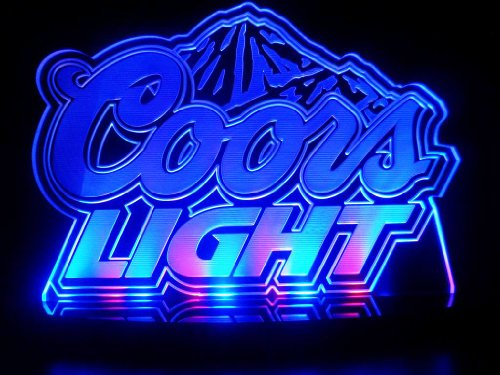 Advertising Coors Light Led Desk Lamp Night Light Beer Bar Bedroom Game Room Signs front-465237