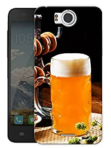 "Beer Love Printed Designer Mobile Back Cover For ""Google Infocus M530"" By Humor Gang (3D, Matte Finish, Premium Quality, Protective Snap On Slim Hard Phone Case, Multi Color)"