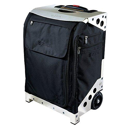 ZUCA-Flyer-Travel-BlackSilver-Frame-Black-Silver-Frame