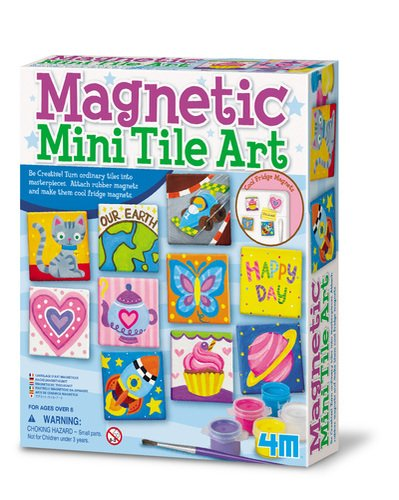 4M Magnetic Mini Tile Art (Color: Others, Tamaño: Standard)
