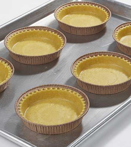 Pastry Shell - Sweet, 4 Inch, Raw, Frozen - 1 box - 100 count (Ready Mini Pie Shells compare prices)