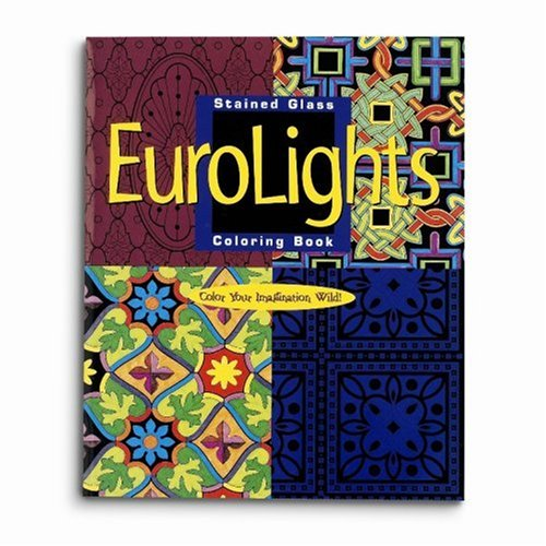 Mind Ware Stained Glass Eurolights Coloring Book - 1