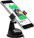Power Theory KFZ Halterung mit Gratis 3M Klebepad für Armaturenbrett Universal Handyhalterung Auto Handy Halter Apple iPhone 6s 6 plus SE 5 5s 5c 4 4s Samsung Galaxy S7 S6 Edge S5 S4 S3 Smartphone (Rot)