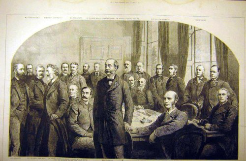 1887 Committee Imperial Institute Group Portrait