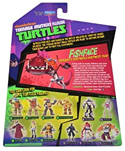 Teenage Mutant Ninja Turtles Fish Face Action Figure
