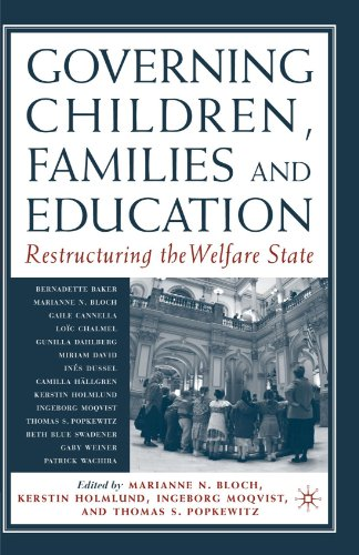 Governing Children, Families And Education: Restructuring The Welfare State front-1014445