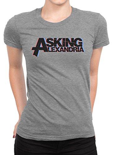 onetwotee -  T-shirt - Donna grigio XXL