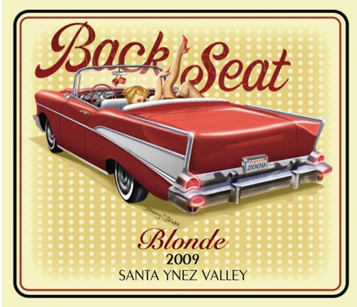 2009 Back Seat Blonde Blend - White 750 Ml
