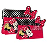 Disney Minnie Mouse Polka Toiletry and Make Up Bag - 2 Piece by Disney (English Manual)