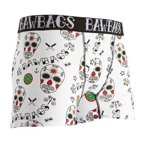BawBags Tag der toten Boxers - Day of the Dead - Small