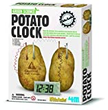 Green Science - Potato Clock - Boys / Girls Creative Activity Kit Toy - Age 8+