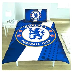 New Official Football Team Single Duvet Set