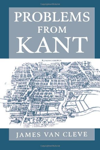 James Van Cleve: Problems from Kant