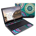 Silk Road Design Protective Decal Skin Sticker (High Gloss Coating) for Acer C7 C710-2847 Chromebook