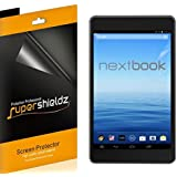 "[3-Pack] SUPERSHIELDZ- Nextbook 7"" Tablet 16GB Quad Core (NX700QC16G) Screen Protector Anti-Bubble High Definition Clear Shield + Lifetime Replacements Warranty [3-PACK] - Retail Packaging"