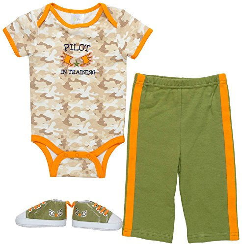 Baby Gear Baby Boys 3-pc. Pilot Layette Set