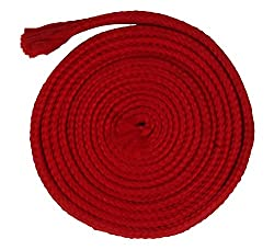 Sri Vaari Lace Red Polyester Shoe Lace
