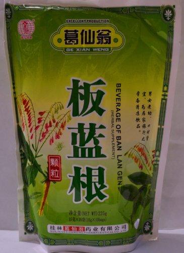 Herbal Supplement- Ban Lan Gen Herbal Tea Instant Drink Isatis Root Beverage