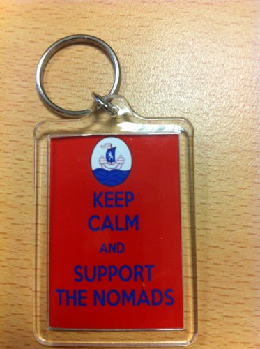 GAP Connahs Quay F.C – Keep Calm Key Ring