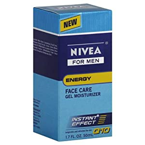 Cheapest NIVEA MEN Energy Non-Greasy Face Gel Moisturizer Q10, 1.7 oz Bottle from Beiersdorf, Inc. - Free Shipping Available
