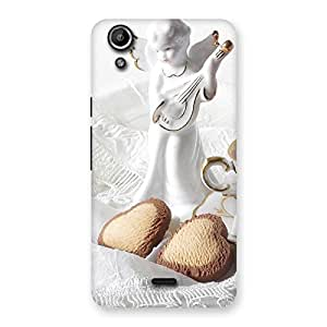 Child Angel Back Case Cover for Micromax Canvas Selfie Lens Q345