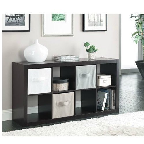 Better Homes And Gardens Furniture 8 Cube Room Organizer Storage Divider Bookcase Espresso