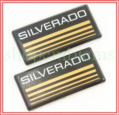 88-98 Chevy Silverado Side Pillar Emblems Roof Cab Body Decal Tahoe Suburban (97 Chevy Silverado Accessories compare prices)