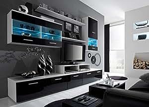 Amazon.com: Paris Contemporary Design Wall Unit / Modern