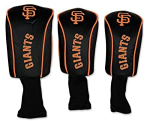San Francisco Giants MLB Baseball 3pk Golf Head Covers by WinCraft