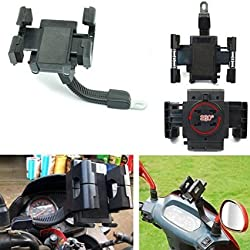 ASCENSION Universal Bike Motor Cycle Mobile Cell Holder Stand Mount Bracket For All Phones