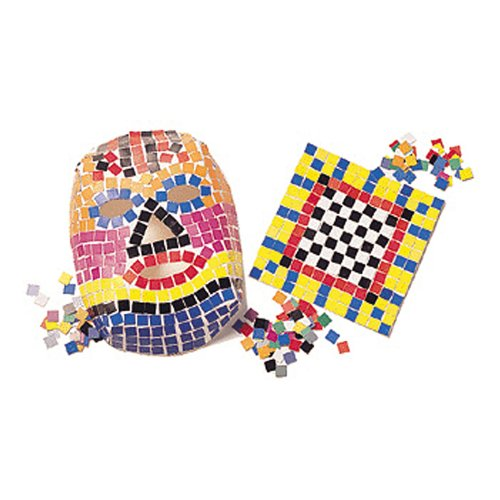 Roylco Craft Double Color Mosaic Squares Bag