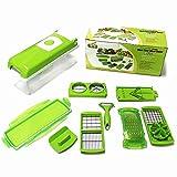 Allure Maek Multi Vegetable Chopper,12 sets Vegetable Cutting tool, Slicer ,Cutter, Food Chopper, Dicer