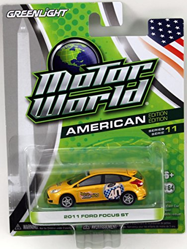 Greenlight Motor World Series 11 - 2011 Ford Focus ST