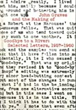 img - for John Graves and the Making of Goodbye to a River: Selected Letters, 1957-1960 book / textbook / text book