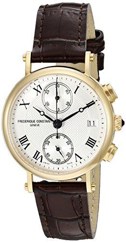 frederique-constant-womens-fc291mc2r5-classics-analog-display-swiss-quartz-brown-watch