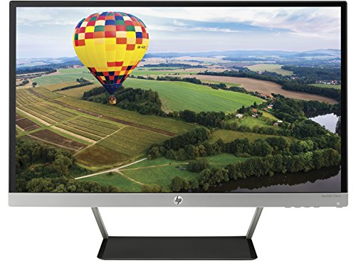 "HP Pavilion 24CW Monitor, 23,8""/60,45 cm, Full HD, Retroilluminazione LED IPS, 2 Porte HDMI, Nero/Argento"