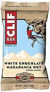 CLIF ENERGY BAR - White Chocolate Macadamia - (2.4 oz, 12 Count)