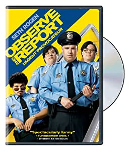 Observe and Report / L'agent provocateur (Bilingual)