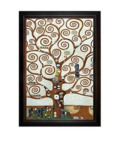 Gustav Klimt's Tree Of Life Framed Hand Painted Oil On Canvas