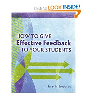 Amazon.com: How to Give Effective Feedback to Your Students