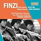 Finzi : Cello Concerto, Clarinet Concerto