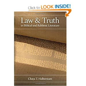 Amazon.com: Law and Truth in Biblical and Rabbinic Literature ...