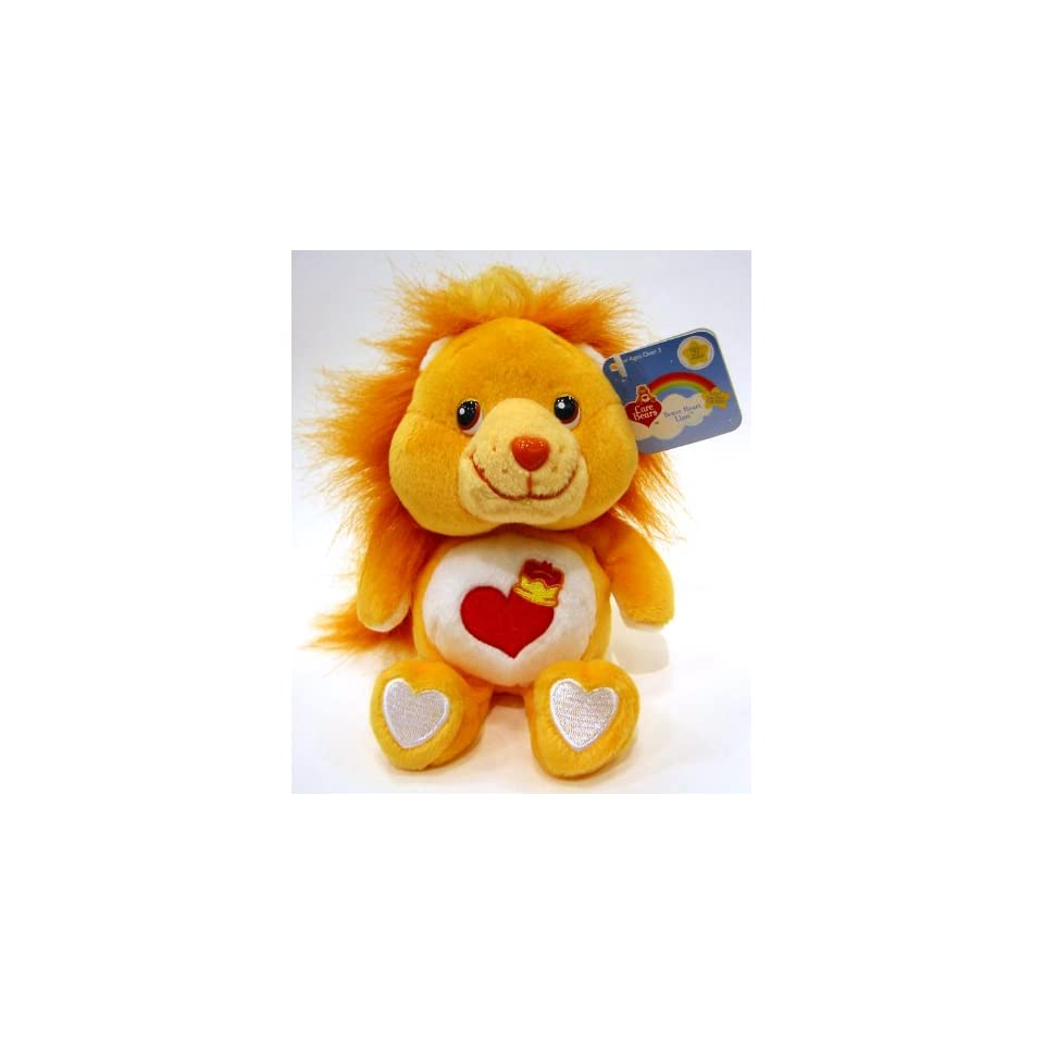 20th Anniversary Edition Care Bears Brave Heart Lion 8 Beanie