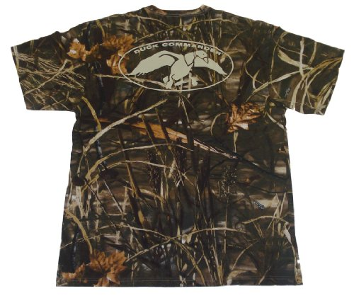 Duck Dynasty Shirt-- Duck Commander Shirt-- Camo SHirt-- Happy Happy Happy-- Officially Licensed Shirt!! (Large, Camo)