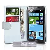 """Samsung Ativ S Tasche Samsung Ativ S Wei� PU Leder Brieftasche H�llevon """"Yousave Accessories�"""""""