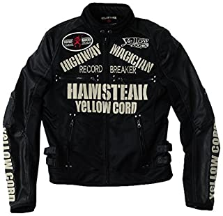 イエローコーン(Yellow Corn) ハムステーキスタイルジャケット ブラック/アイボリー Lサイズ YB-5111