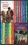 Harlequin Intrigue Christmas set (14 books) : Crimson Holiday ~ Santa Claus Is Coming ~ Crimson Nightmare ~ Ill Be Home for Christmas ~ Bearing Gifts ~ White Wedding ~ Night Before Christmas ~ Baby in My Arms ~ Undercover Christmas ~ Their Only Child ~ Better Watch out ~ Dear Santa ~ Best-Kept Secret ~ Maverick Christmas
