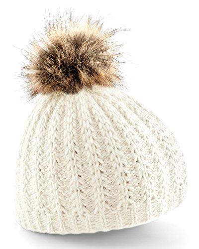faux-cappello-beano-di-pelliccia-pompon-vaniglia