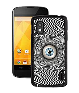 Fuson 2D Printed Lens Designer Back Case Cover for LG Google Nexus 4 - D701