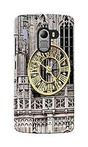 CimaCase Clock Tower Designer 3D Printed Case Cover For Lenovo K4 Note